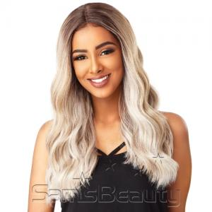 Sensationnel Synthetic Lace Front Wig Empress Edge Natural Center Part Brianna