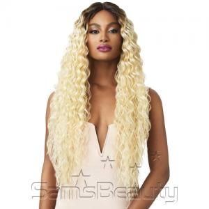 Outre Synthetic Hair Lace Front Wig Swiss Lace I Part Sadie 32""