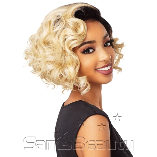 Sensationnel Synthetic Lace Front Wig Empress Edge Curved Part Tamika