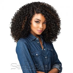 Sensationnel Synthetic Lace Front Wig Empress Edge Curls Kinks & Co The Show