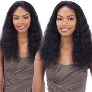 Model Model Nude Fresh Brazilian Human Hair Lace Front Wig Wet&Wavy Loose Deep