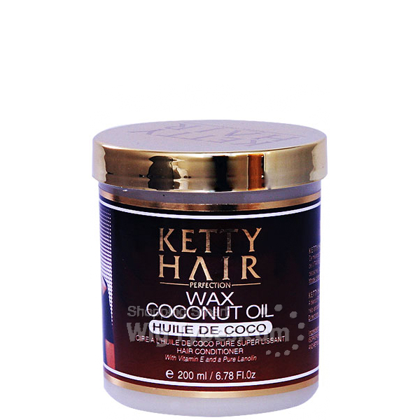 Ketty Hair Wax Coconut Oil Hair Conditioner 6.78oz