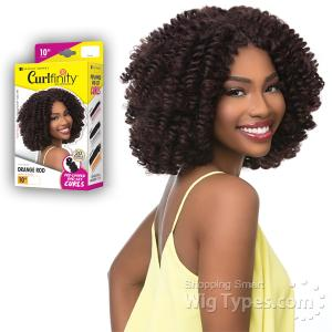 Sensationnel Curlfinity Synthetic Braid - ORANGE ROD 10 (20pcs)