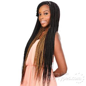 Freetress Synthetic Braid - 2X QUE JUMBO MAXX VOLUME BRAID 20