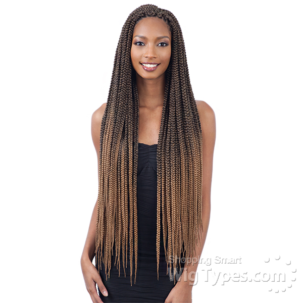 Freetress Synthetic Braid - 2X LARGE BOX BRAID 30