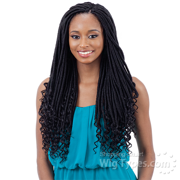 Freetress Synthetic Braid - STRAIGHT GODDESS (GORGEOUS) LOC 18
