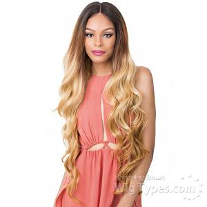 It's a Wig 100% Human Hair Blend 360 Circular Frontal Lace Wig - LACE ADIRA (360