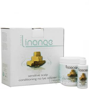 Linange Sensitive Scalp Conditioning No Lye Relaxer - 4 applications