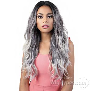 Motown Tress Human Hair Blend 360 Lace Wig - HB360L ZIA