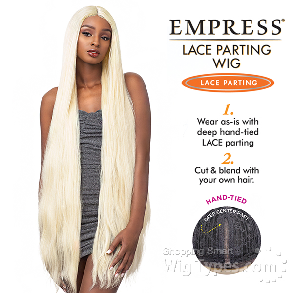 Sensationnel Synthetic Hair Empress Lace Parting Wig - DIAMOND 46
