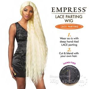 Sensationnel Synthetic Hair Empress Lace Parting Wig - GEM 46