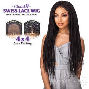 Sensationnel Cloud 9 Synthetic Hair 4x4 Multi Parting Swiss Lace Wig - BOX BRAID