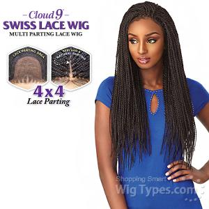 Sensationnel Cloud 9 Synthetic Hair 4x4 Multi Parting Swiss Lace Wig - SENEGAL TWIST