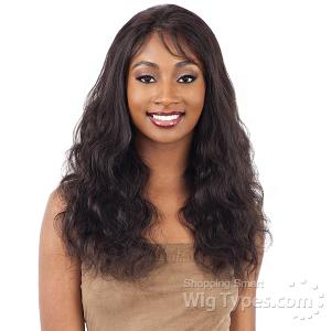 Naked 100% Brazilian Natural Hair Whole Lace Wig - NATURAL 501